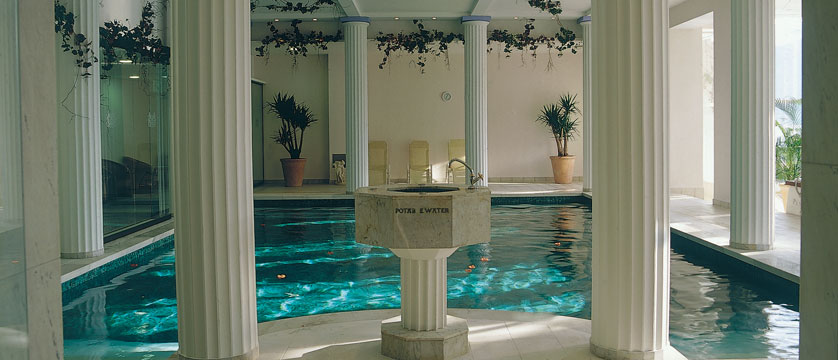 Grand Hotel Toplice, Bled, Slovenia - indoor swimming pool.jpg
